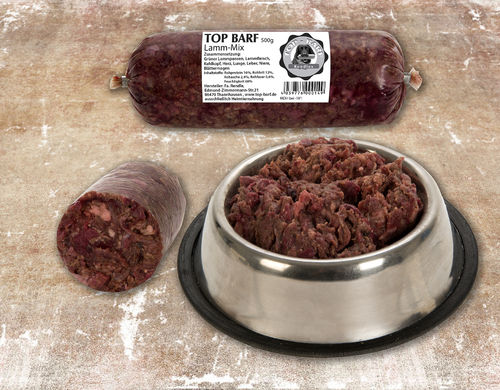 TOP BARF Lamm-Mix 500g